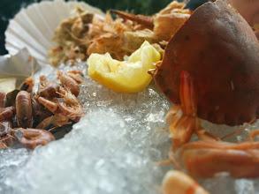 Photo: Seafood platter