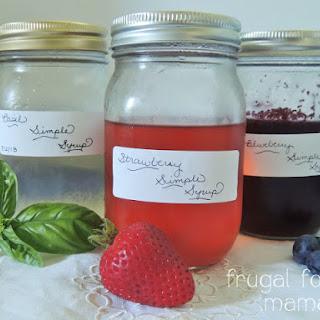 Summer Simple Syrups 3 Ways.