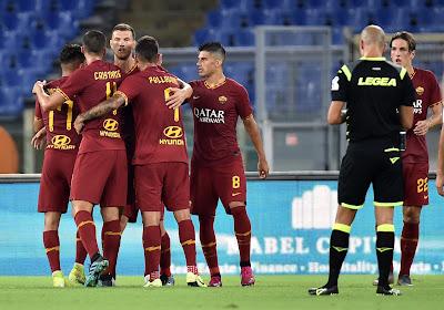 Serie A : La Roma poursuit sa remontée au classement