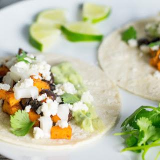 Sweet Potato Tacos With Creamy Avocado Sauce