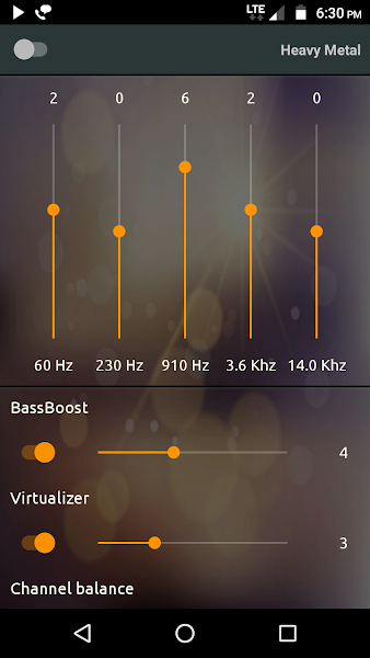 PowerAudio Pro Music Player Screenshot Image