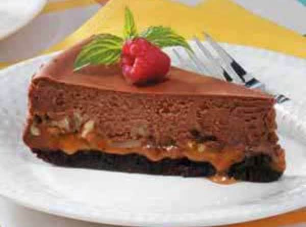 Caramel Brownie Cheesecake Recipe