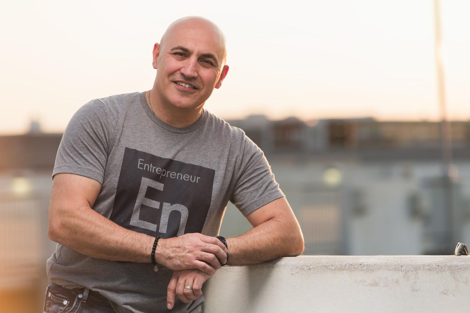 OpticTour CEO Ramin Jahedi