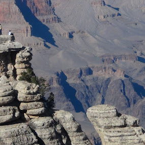 Amidst the Rocks of a mountain by Leelamohan Anantharaju - Landscapes Mountains & Hills ( mountains, rocks, mountain valleys, grand canyon, travel )
