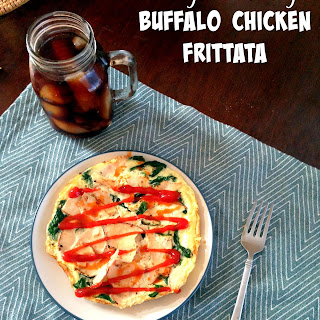 Single Serving Buffalo Chicken Frittata