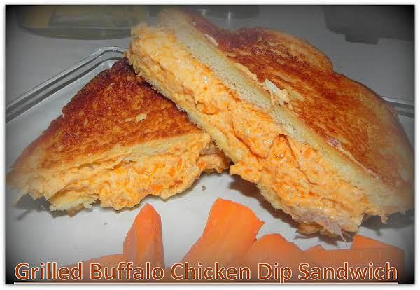 Grilled Buffalo Chicken Dip Sandwich