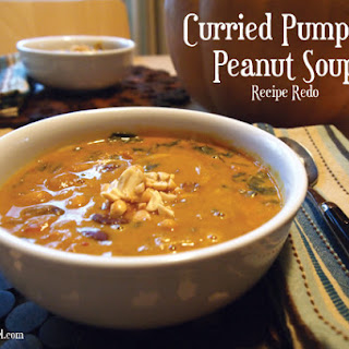 Curried Pumpkin Peanut Soup – Recipe Redo