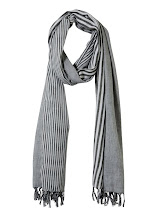 Photo: Jack & Jones Grey Variegated Stripe Scarf £21.99 http://bit.ly/LPXNyf
