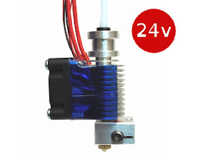 E3D All-metal v6 HotEnd Full Kit 1.75mm Universal (with Bowden add-on) (24v)
