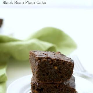 Gluten Free Chocolate Banana Black Bean Flour Cake