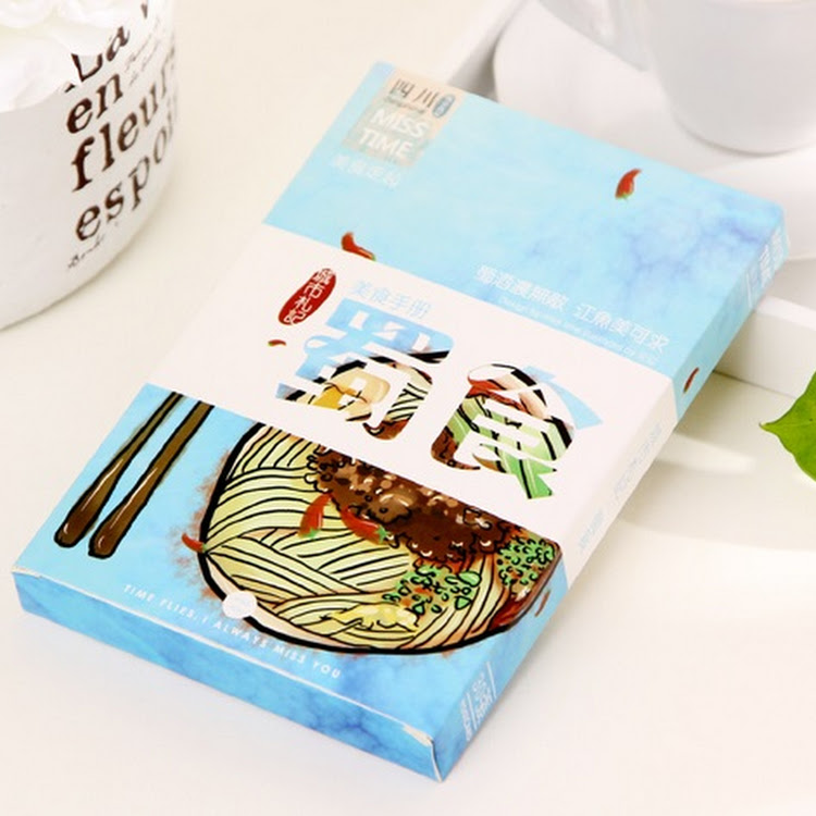 Postcard Set - Food Series by Card n' Paste