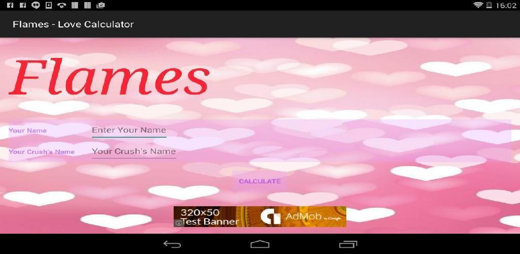 Download FLAMES - The Love Calculator APK latest version app