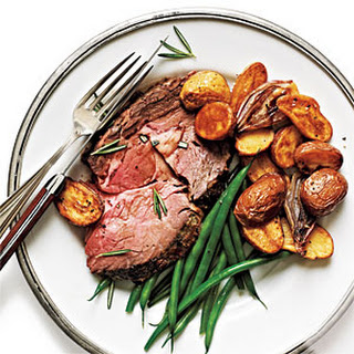 Rosemary-Dijon Crusted Standing Rib Roast
