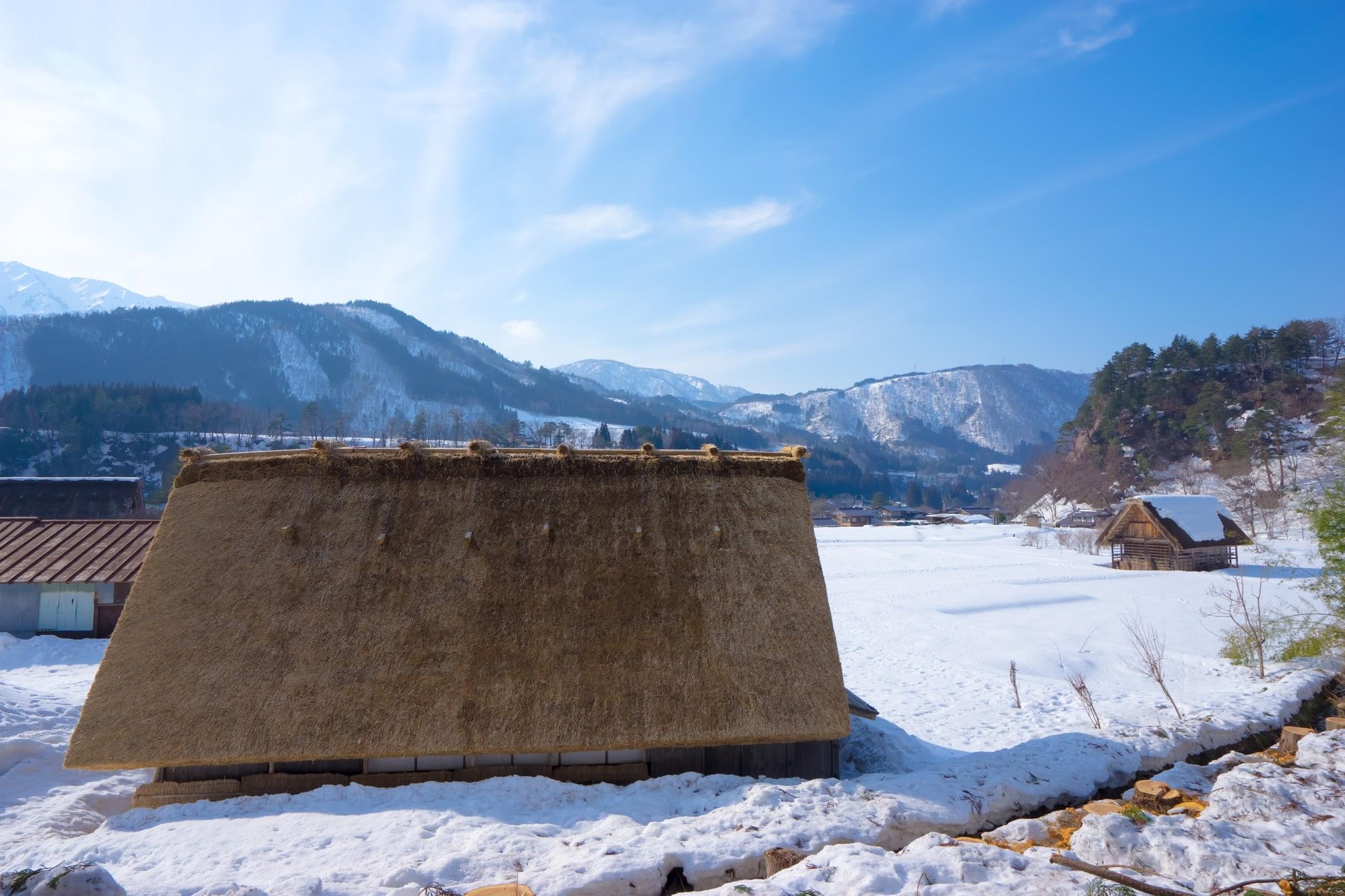 Shirakawa-go snow2