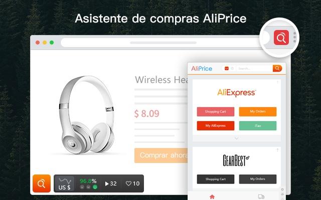 El seguidor del precio para AliExpres - AliPrice Asistente