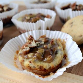 Pecan Praline Cheesecakes.