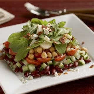 Two-bean Salad with Arugula
