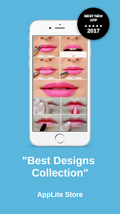 Lip Makeup Designs Latest 2017 - náhled