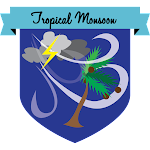 Button Tropical Monsoon