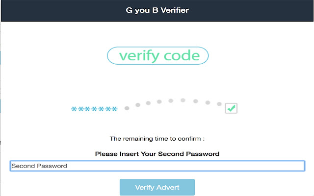G you B Verifier