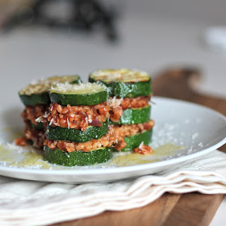 Zucchini Bulgur Lasagne