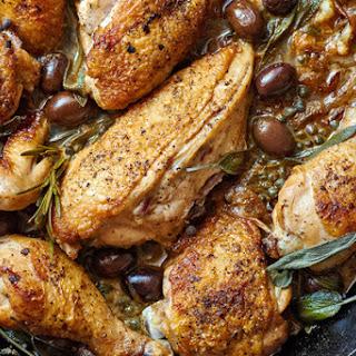 Umbrian-Style Chicken alla Cacciatora