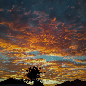 After the storm by Steve Hunt - Instagram & Mobile Android ( queensland, android, sunset, australia, mackay )