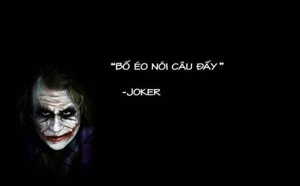 Những câu nói hay của joker về tình yêu