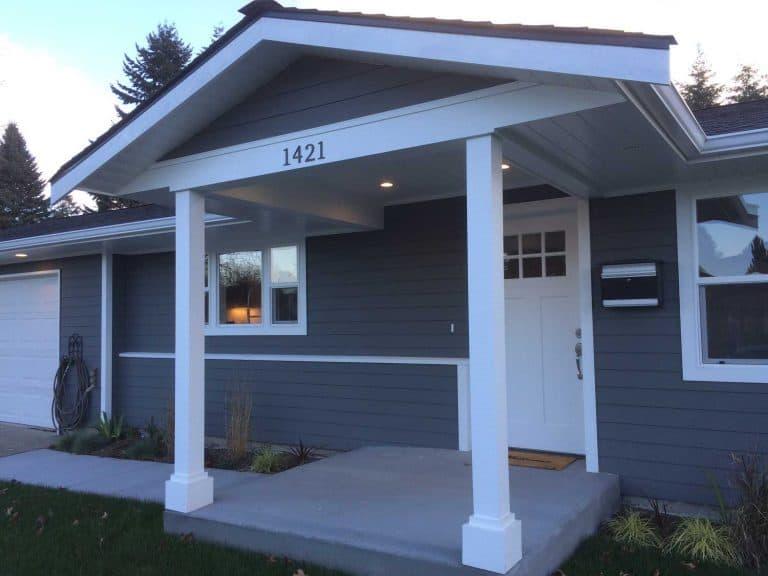 low maintenance porch posts