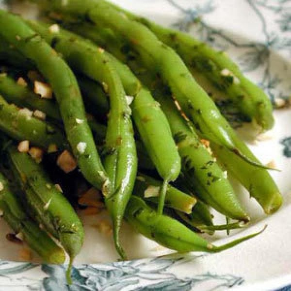 Steamed Green Beans With Almonds Recipe