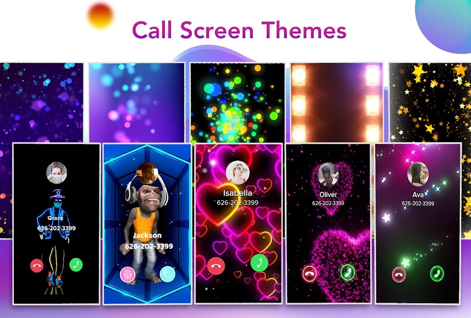 Color Call - Caller Screen, LED Flash Android App Screenshot