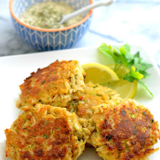Maryland Style Crabcakes.