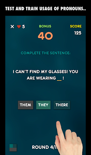 My English Grammar Test: Pronouns (Free) screenshots 9