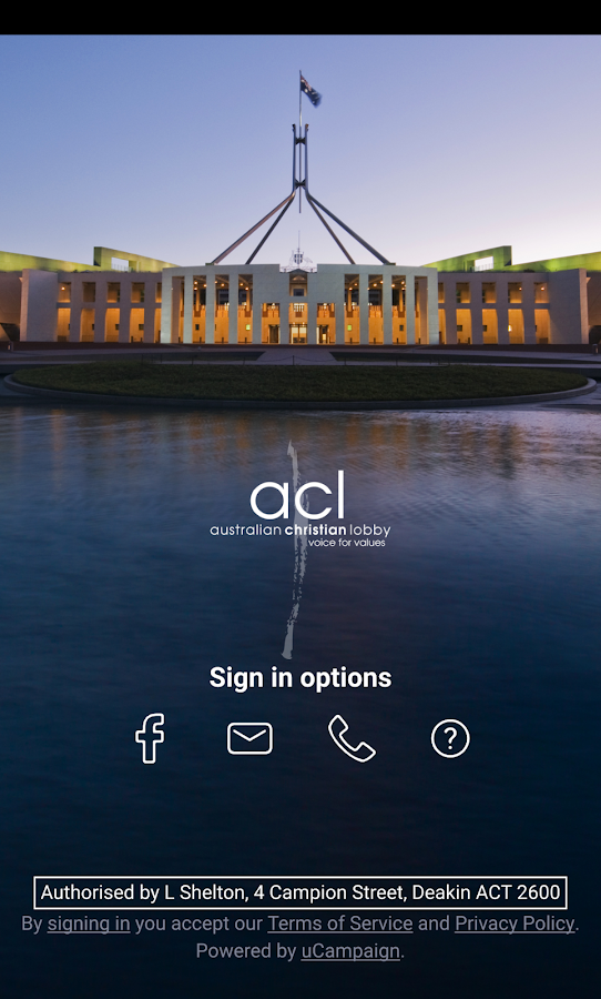Australian Christian Lobby- screenshot