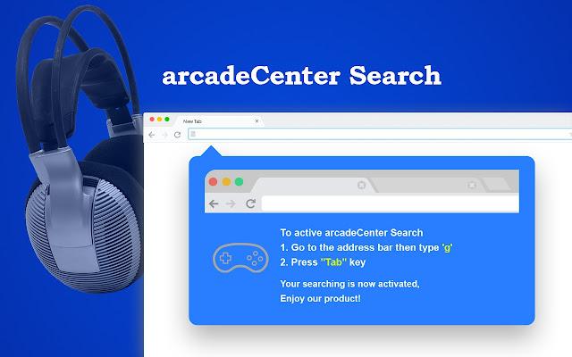 arcadeCenter Search