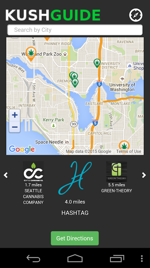 Kush Guide - Cannabis Near You- screenshot