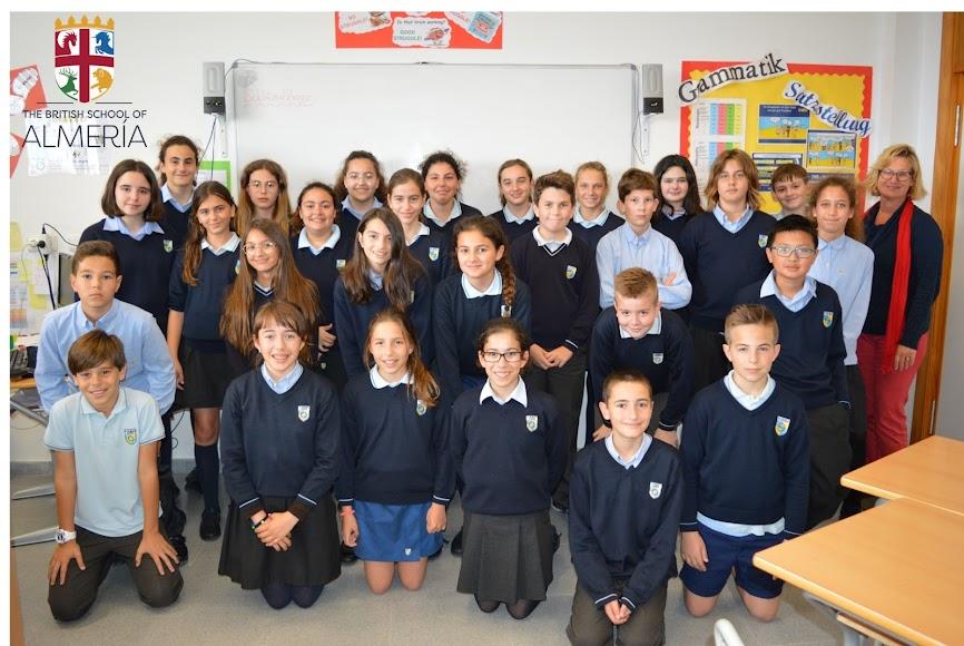 Roquetas de Mar. St. George\'s British School, 6º