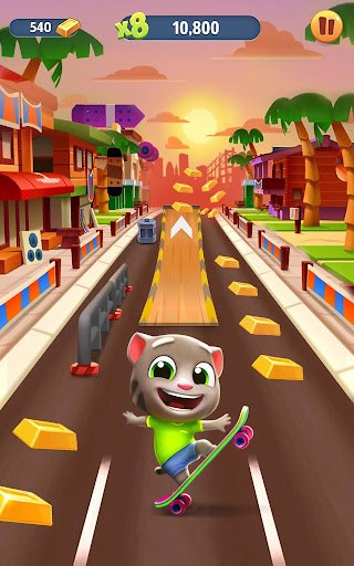 Talking Tom Gold Run 4.6.1.742 screenshots 9