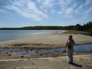 Photo: Superior gölü enfes. Yüzen yok, tekne yok. Sezon değil mi ne?