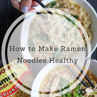 Slow Cooker Chicken Ramen Noodle Soup.
