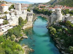 Photo: Mostar Öreg Híd, Mostari szimbólum, Mostar, Csontváry, Öreg Híd, Neretva, Világhíres híd