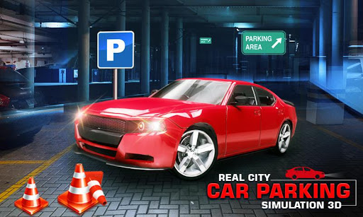 Real City Car Parking Simulation 3D