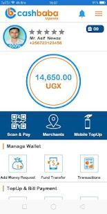 CashBaba Uganda Beta - náhled