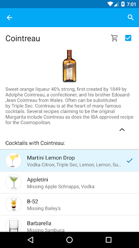 My Cocktail Bar screenshot