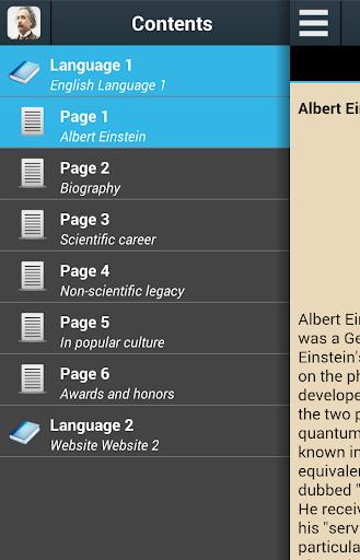 玩書籍App Biography of Albert Einstein免費 APP試玩