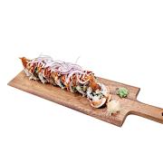110. Ebi Grilled Salmon Sushi Roll