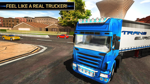 Euro Truck Driving Simulator 2018  screenshots 6