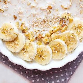 Overnight Banana Oatmeal Breakfast
