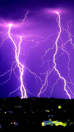 Thunder Storm Lightning Apus Live Wallpaper App Apk Free