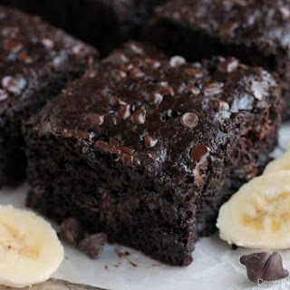 Double Chocolate Banana Cake.